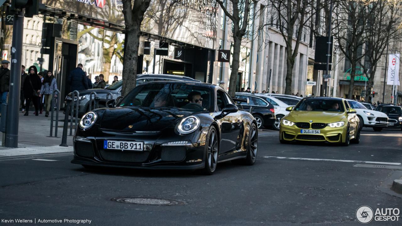 Porsche 991 GT3 1