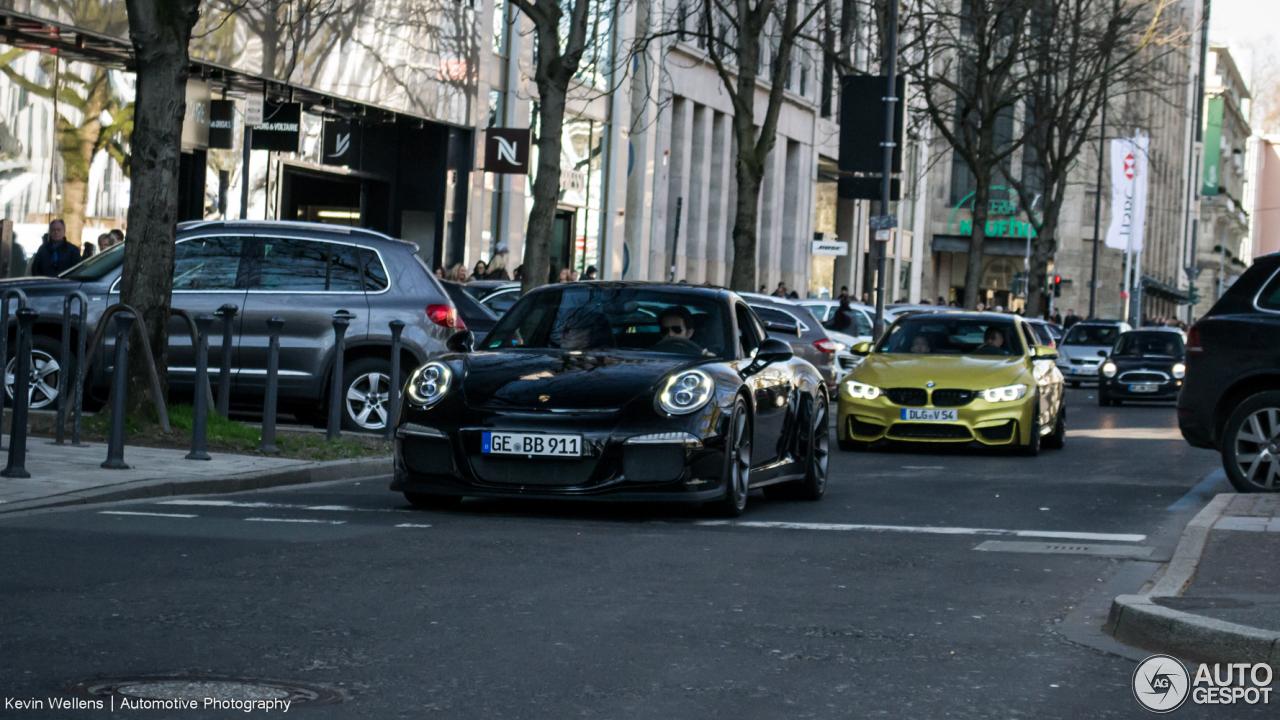 Porsche 991 GT3 2