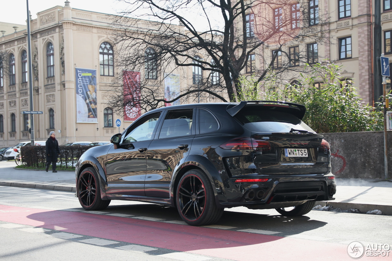 Porsche Cayenne Techart Magnum 2015 27 February 2016