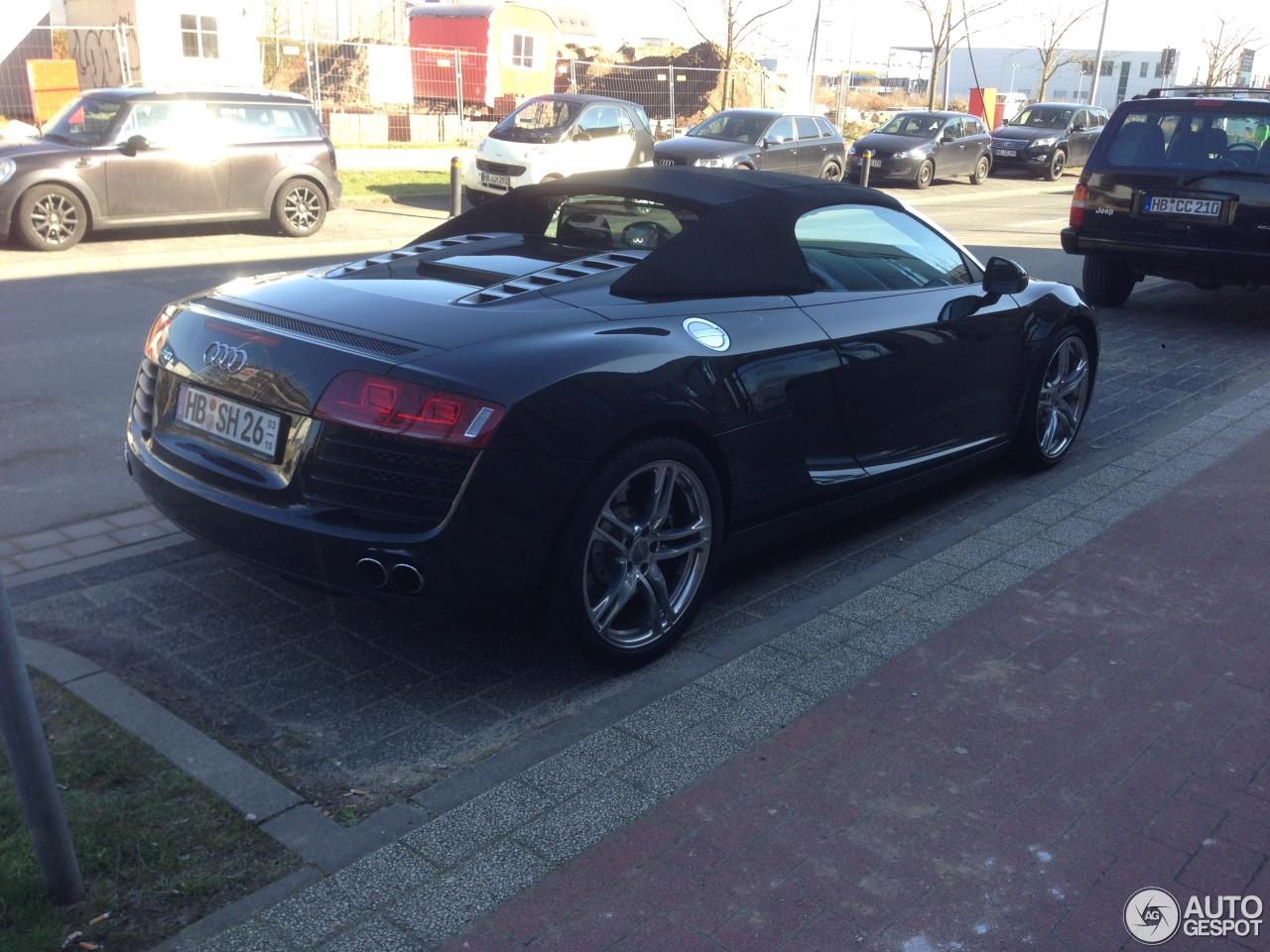Audi R8 V8 Spyder 2