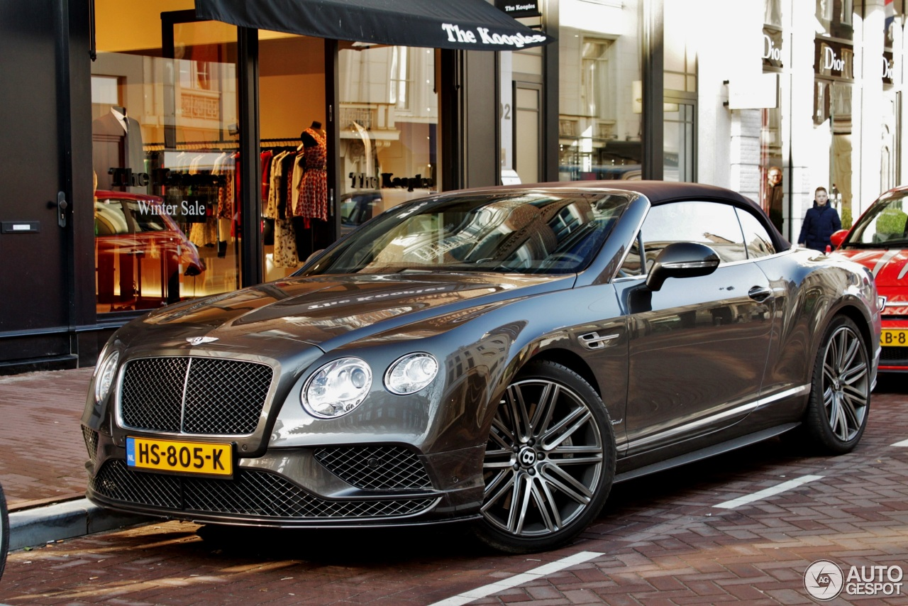 bentley continental gtc speed 2016 28 february 2016 autogespot. Cars Review. Best American Auto & Cars Review