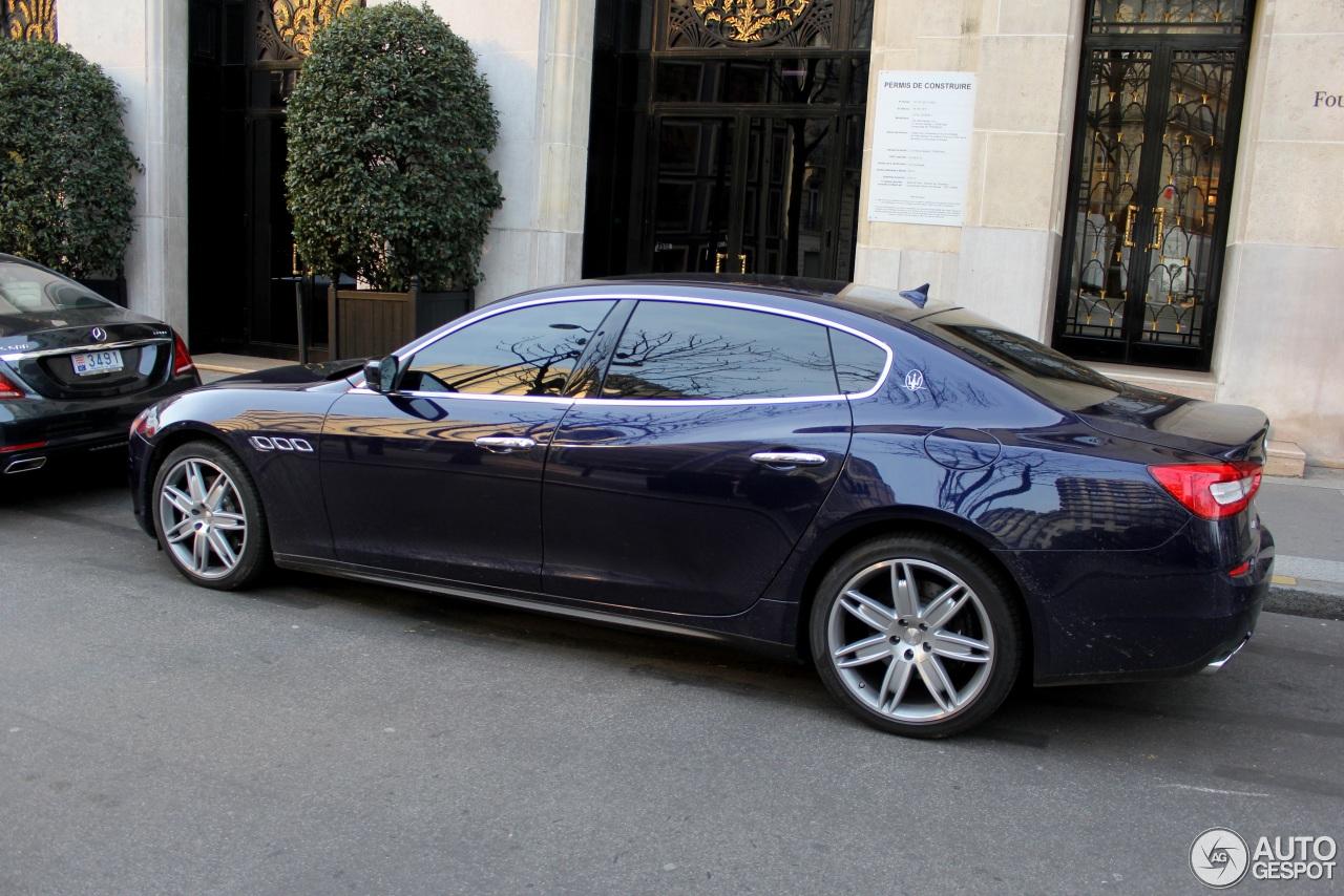 Maserati Quattroporte S Q4 2013 4