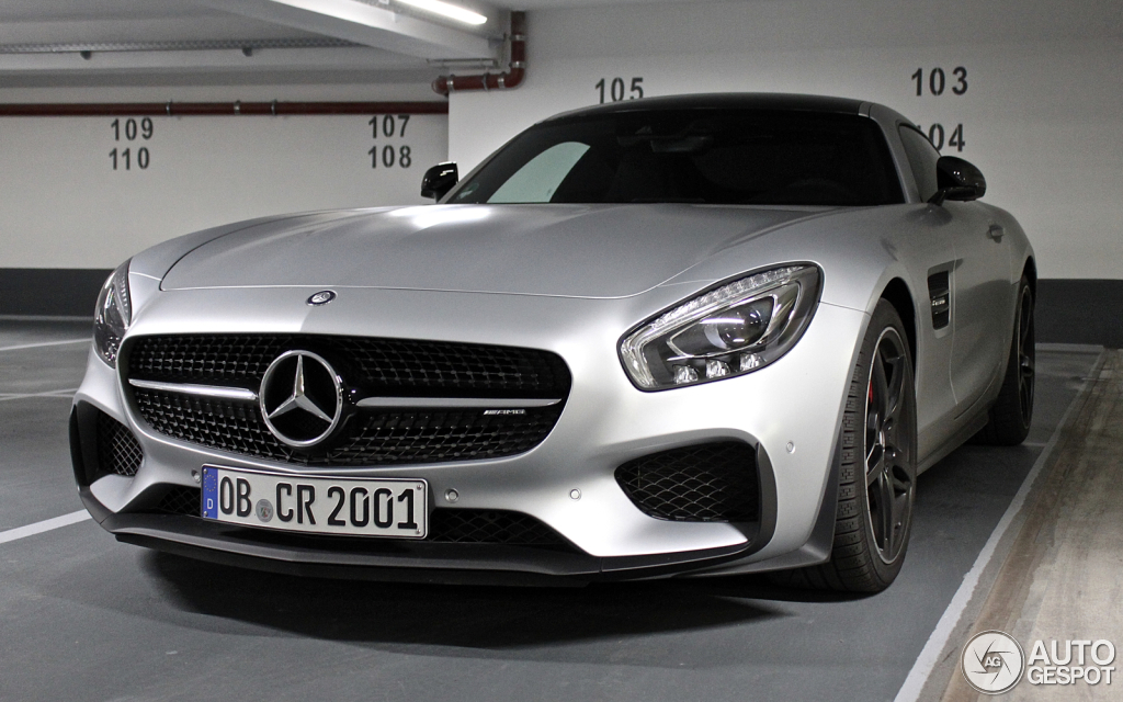 Mercedes-AMG GT S Edition 1 4