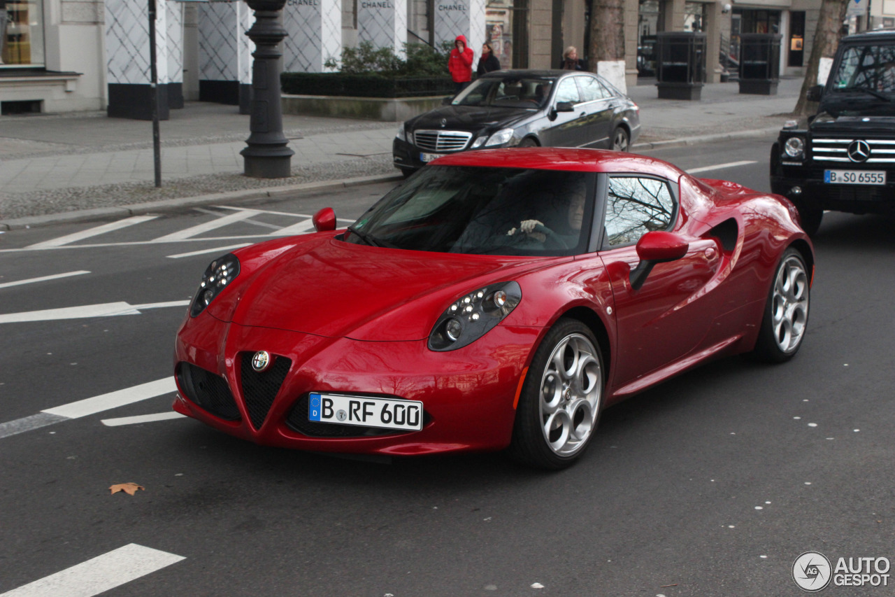 Alfa Romeo 4C 4