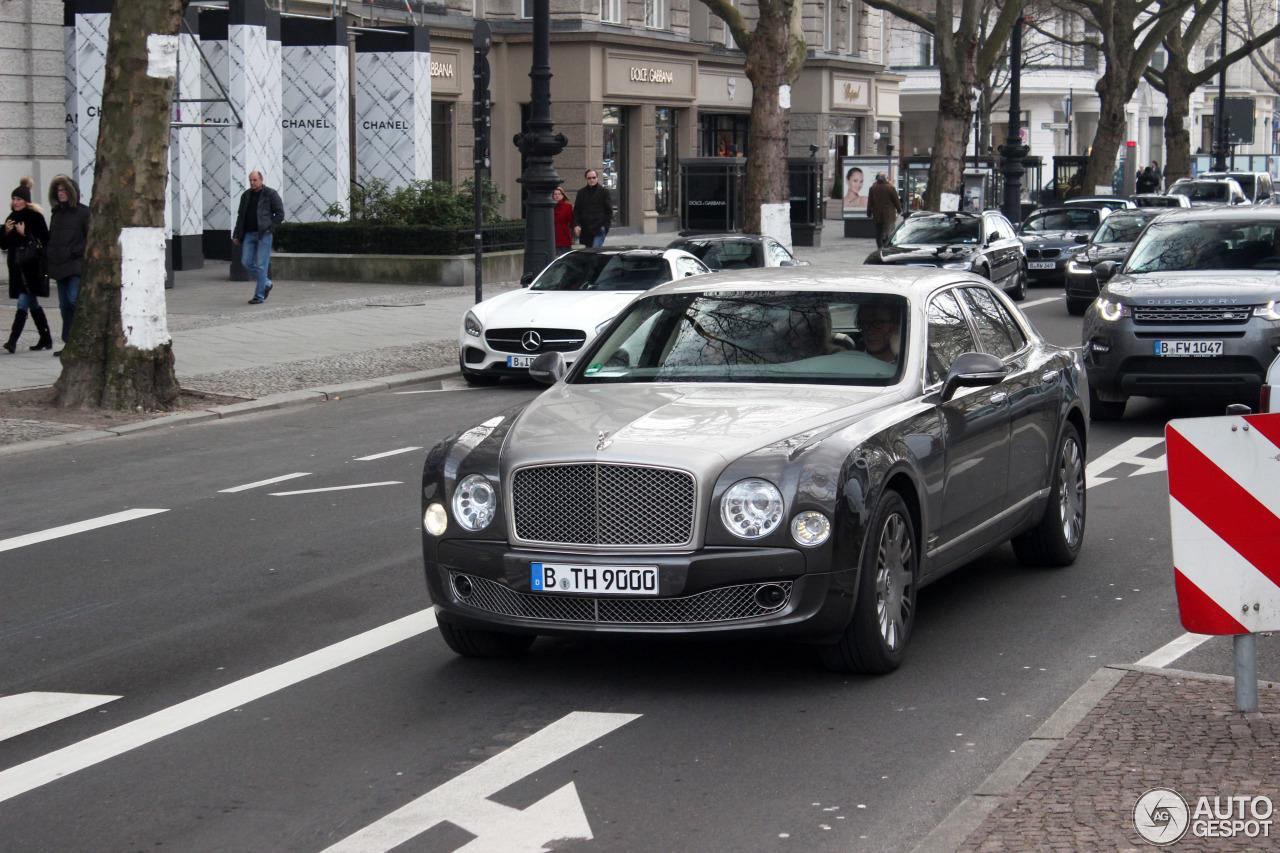 Bentley Mulsanne 2009 2