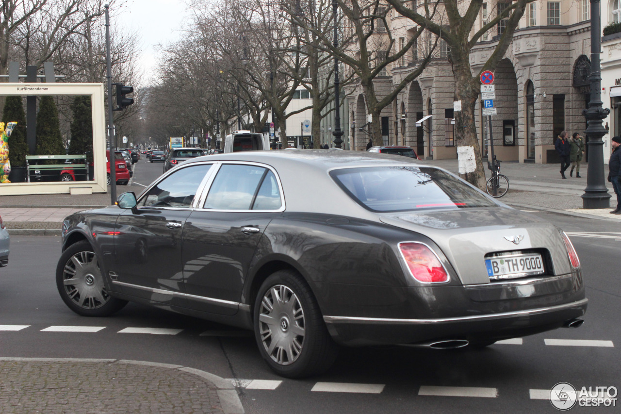 Bentley Mulsanne 2009 7