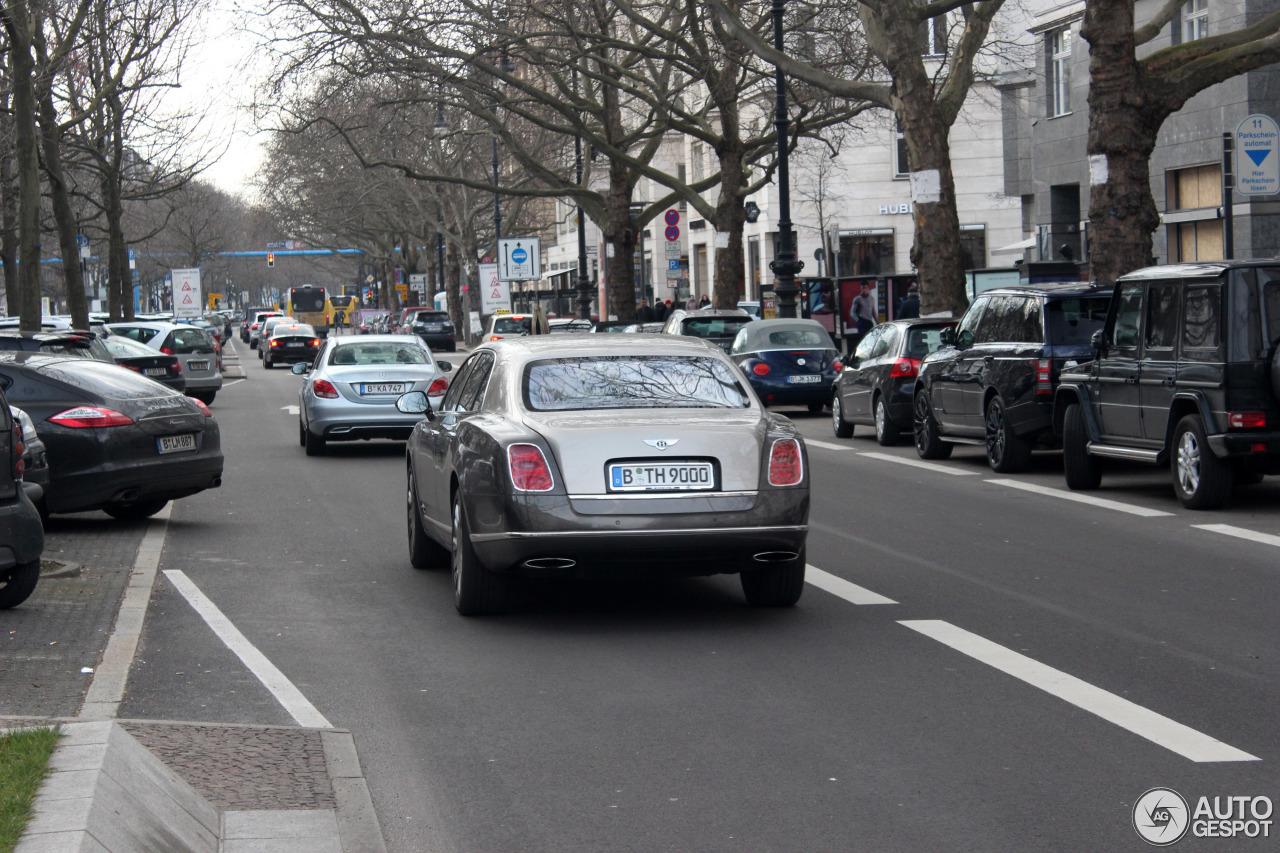 Bentley Mulsanne 2009 8