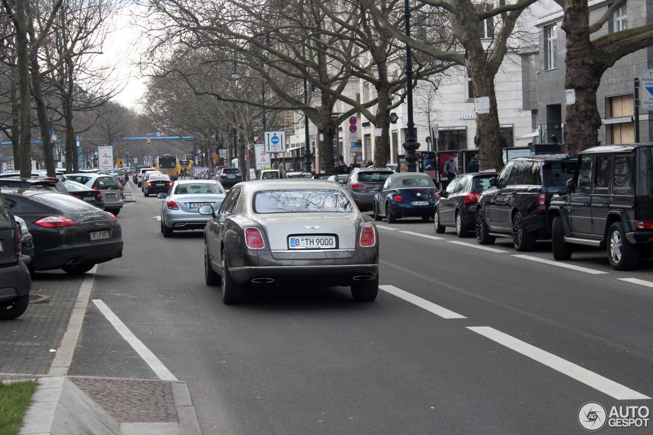 Bentley Mulsanne 2009 9