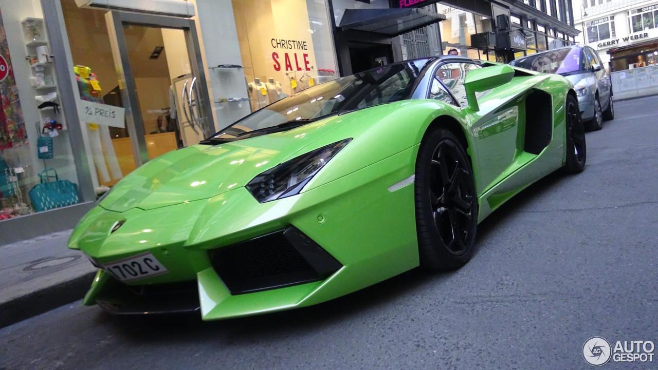 Lamborghini Aventador Lp700 4 Roadster 1 March 2016 Autogespot