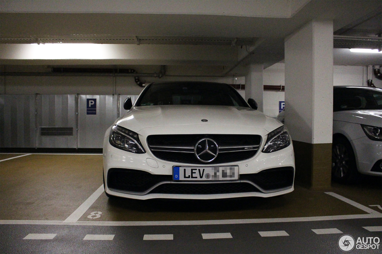 Mercedes-AMG C 63 S W205 2
