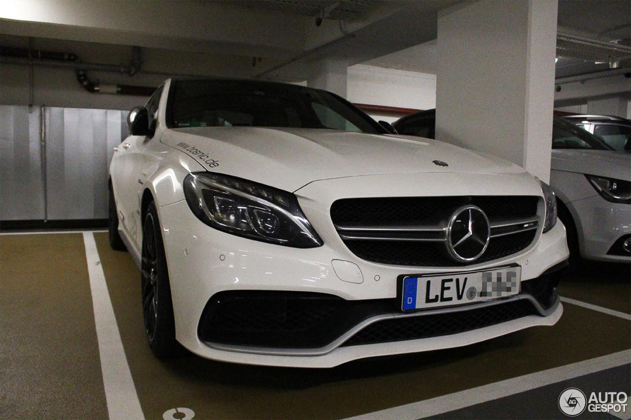 Mercedes-AMG C 63 S W205 4