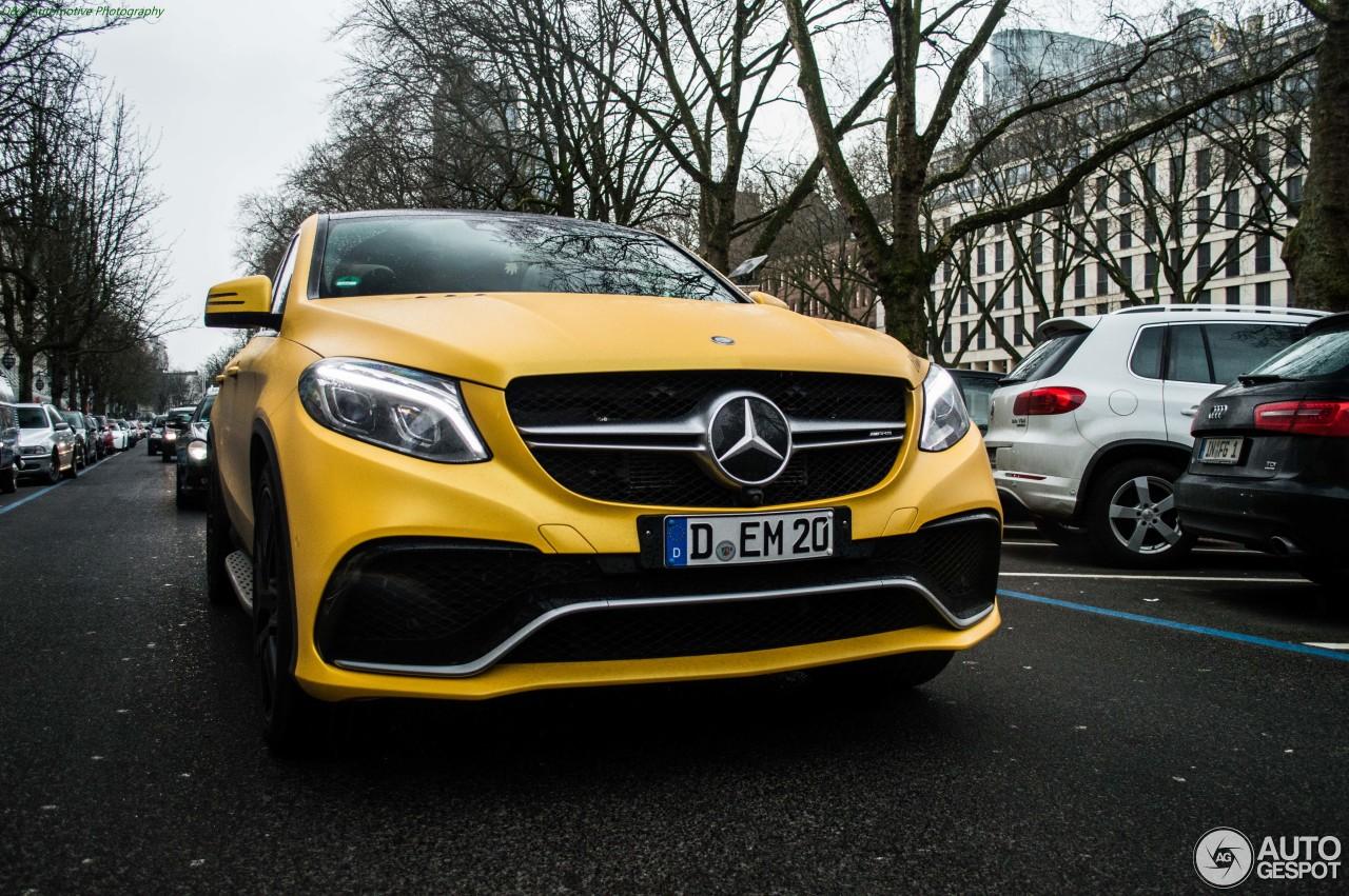 Mercedes-AMG GLE 63 S Coupé 1