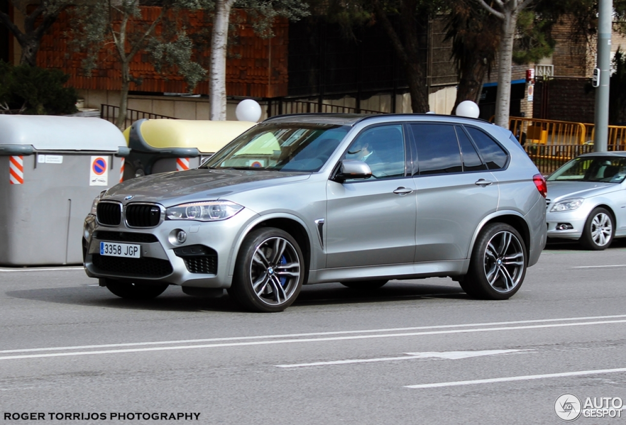 bmw x5 m f85 2 march 2016 autogespot. Black Bedroom Furniture Sets. Home Design Ideas