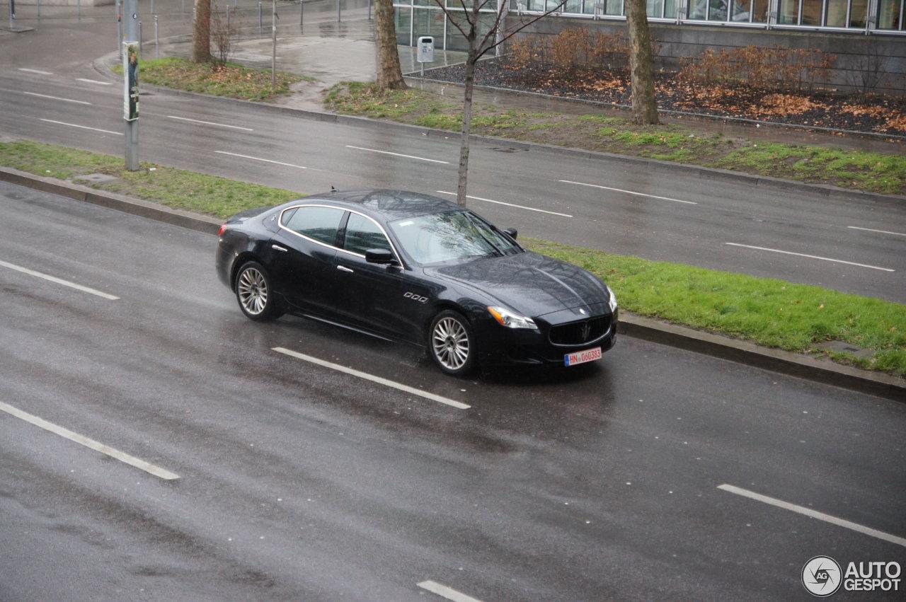 Maserati Quattroporte S 2013 1