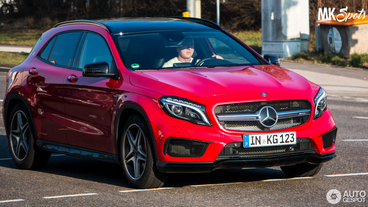 Mercedes-Benz GLA 45 AMG X156 3