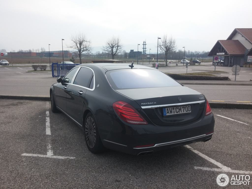 mercedes maybach s600 2 march 2016 autogespot. Black Bedroom Furniture Sets. Home Design Ideas