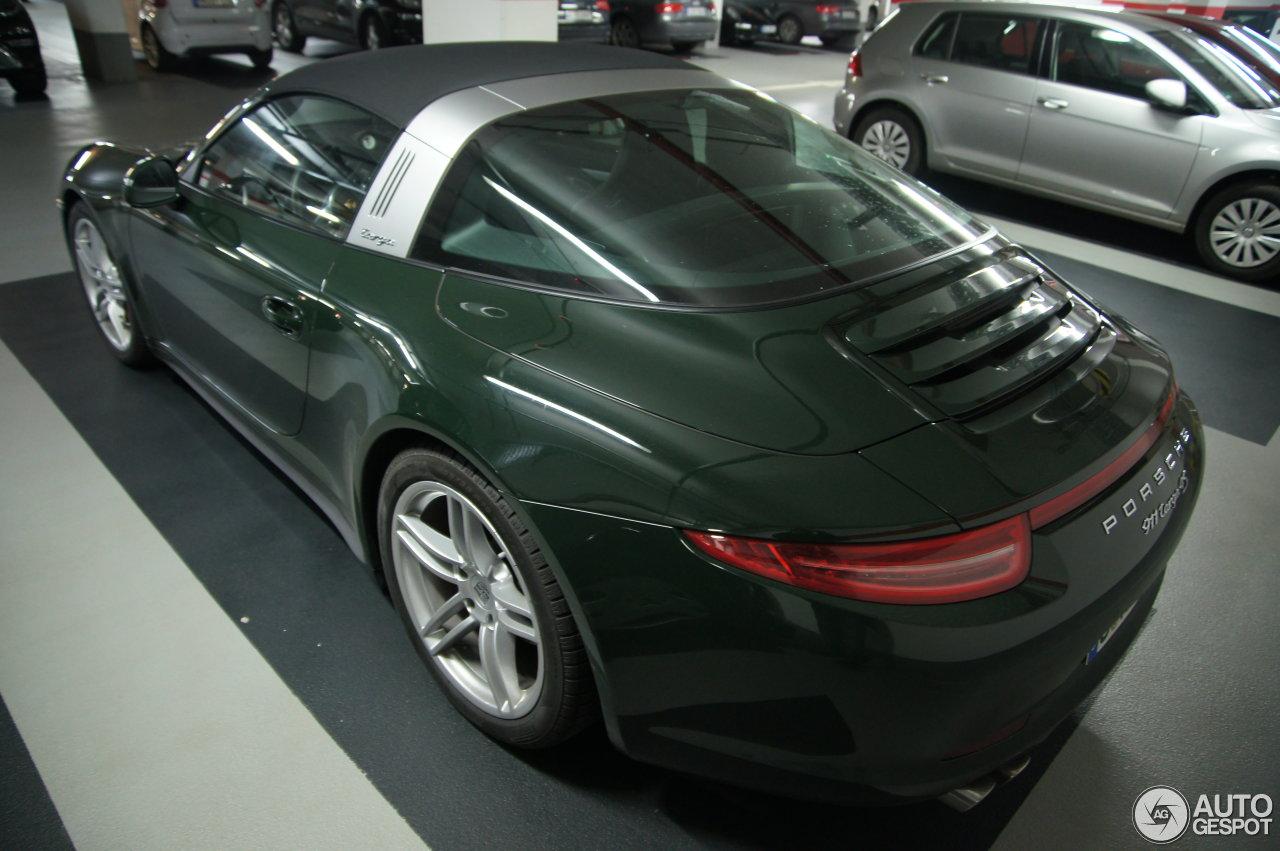 Porsche 991 Targa 4S 4