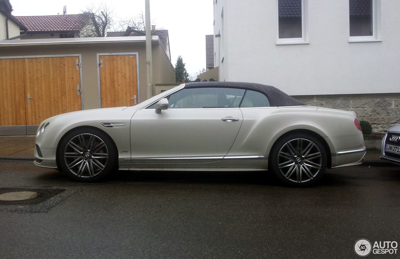 Bentley Continental Gtc Speed 2016 3 Mrz 2016 Autogespot