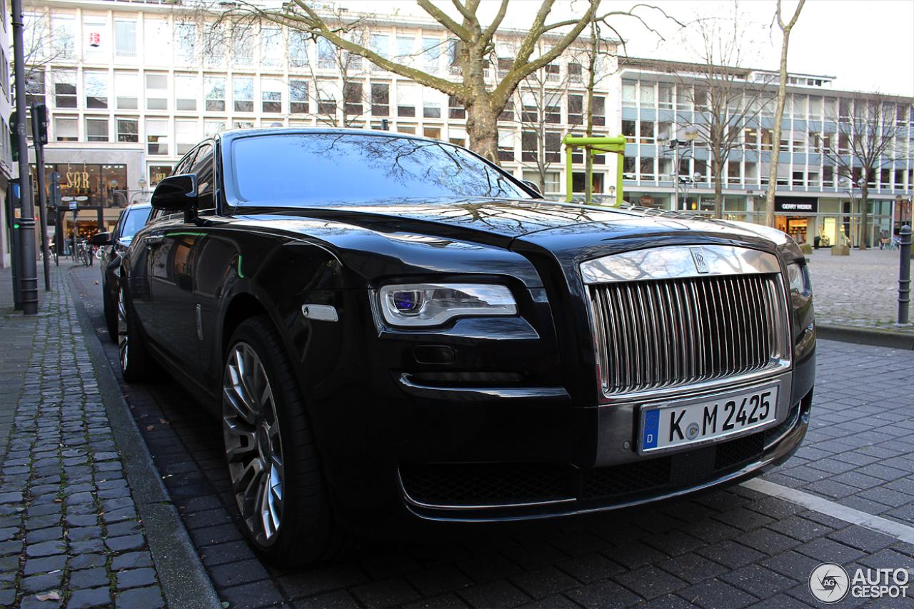 Rolls-Royce Ghost Series II 3