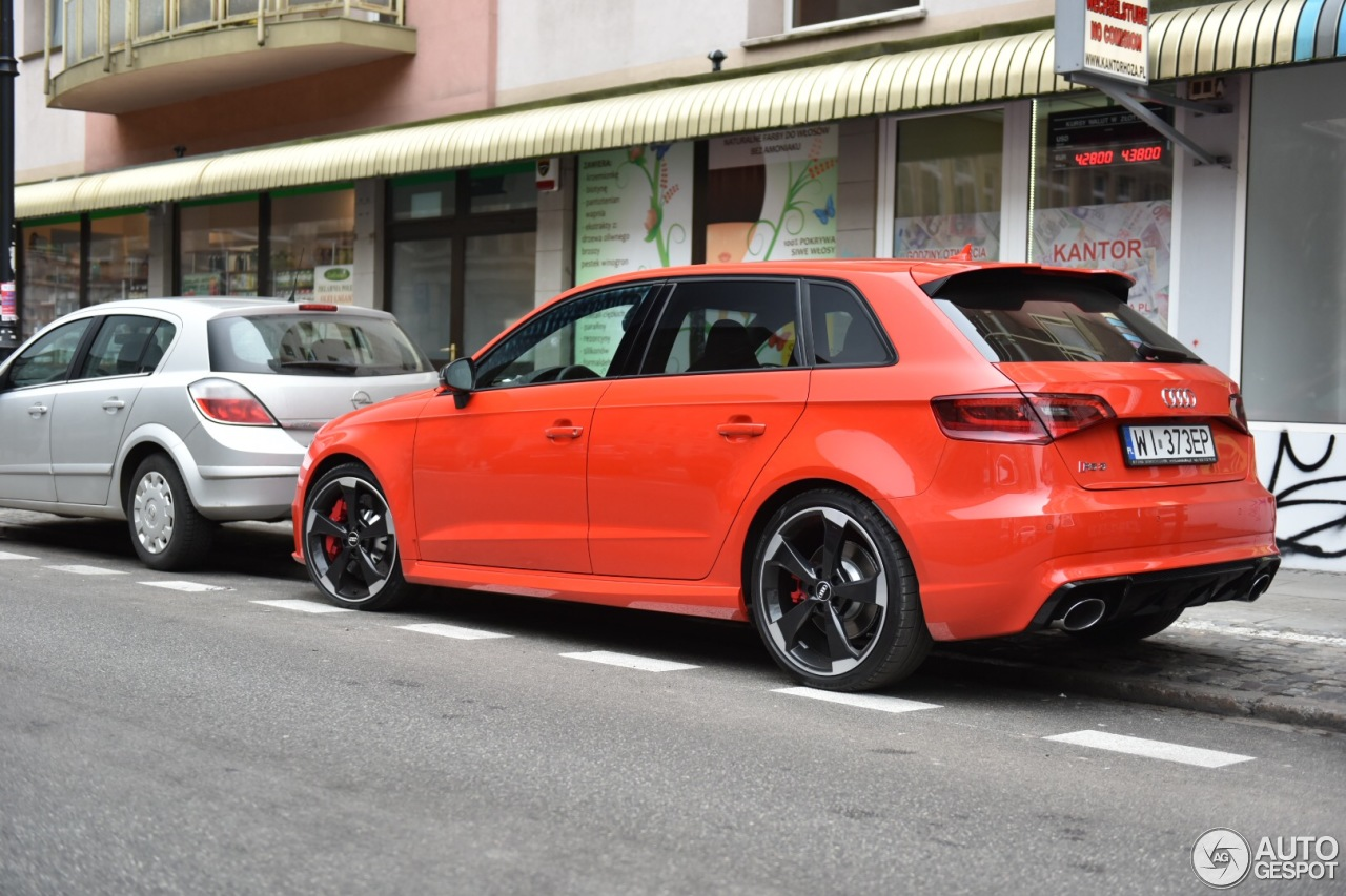 audi rs3 sportback 8v 4 march 2016 autogespot. Black Bedroom Furniture Sets. Home Design Ideas