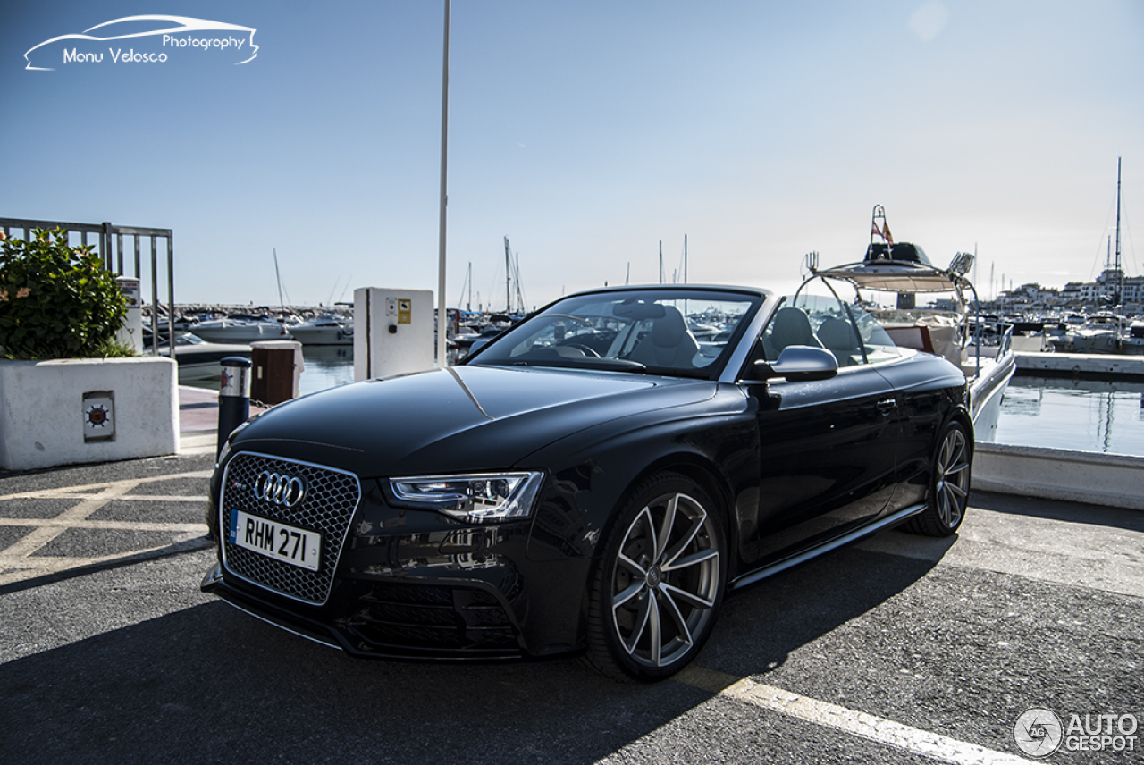 audi rs5 cabriolet b8 4 march 2016 autogespot. Black Bedroom Furniture Sets. Home Design Ideas
