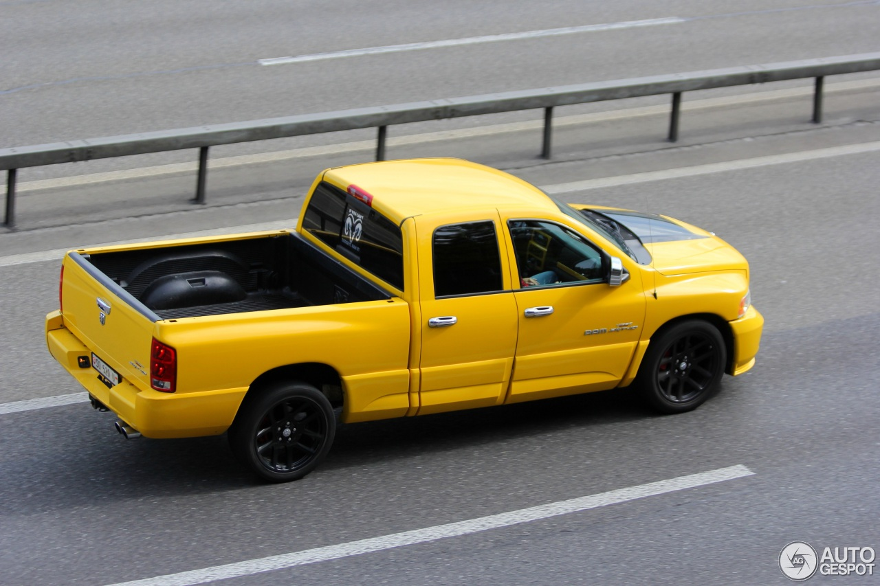 dodge ram srt 10 quad cab yellow fever edition 4 march 2016 autogespot. Black Bedroom Furniture Sets. Home Design Ideas