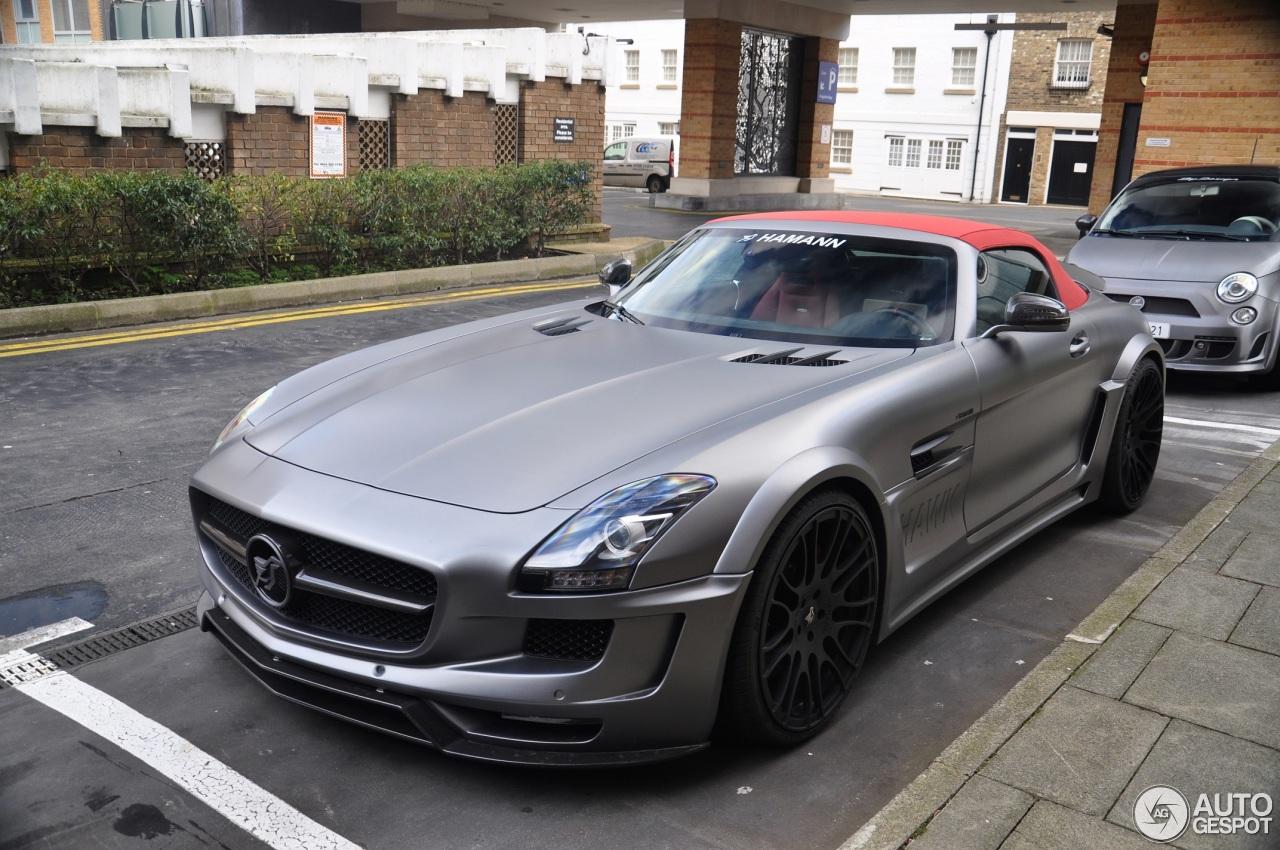 Mercedes benz hamann hawk sls amg roadster 4 march 2016 for Mercedes benz hamann