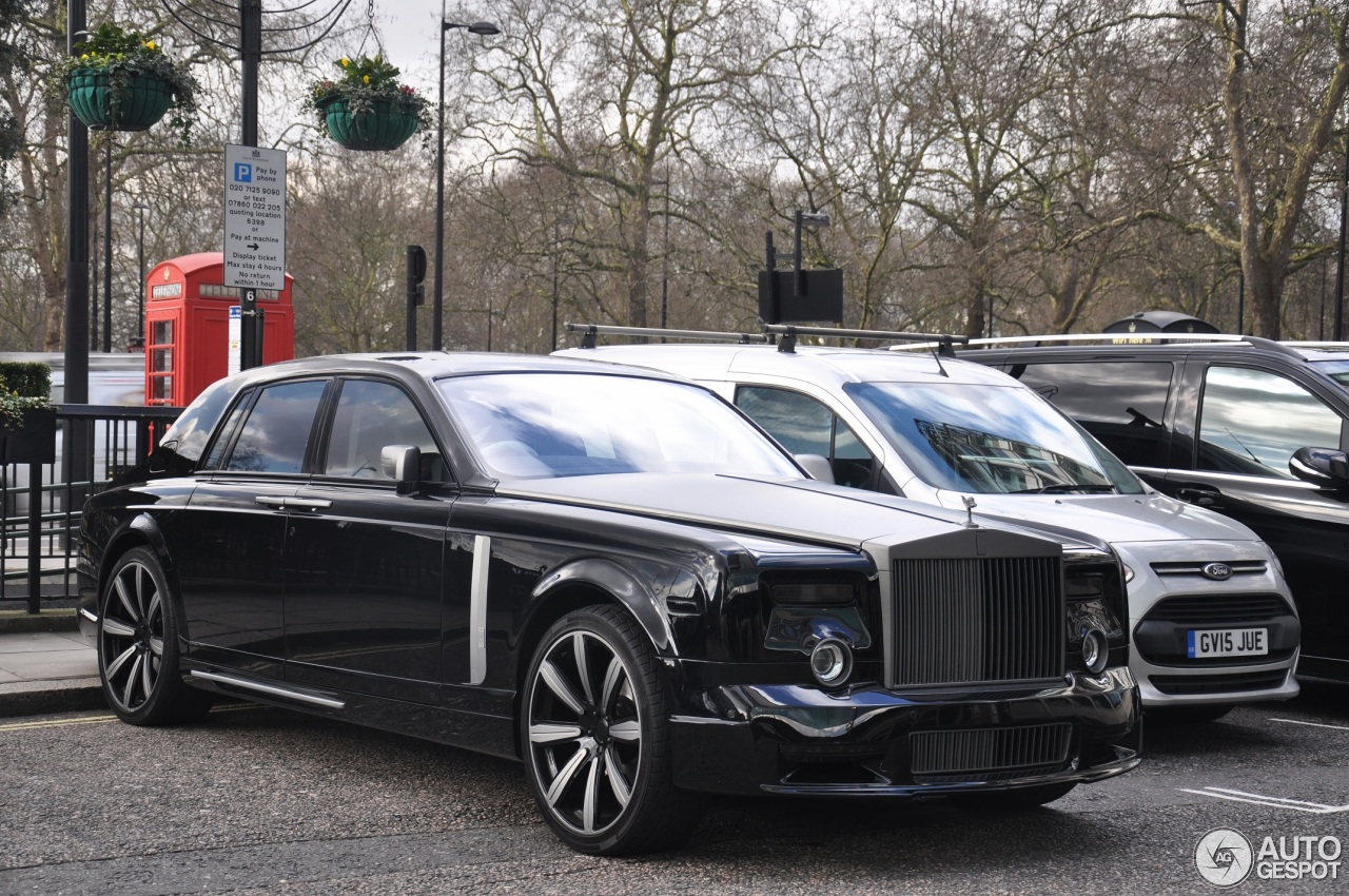 Rolls Royce Phantom Mansory Conquistador 4 March 2016