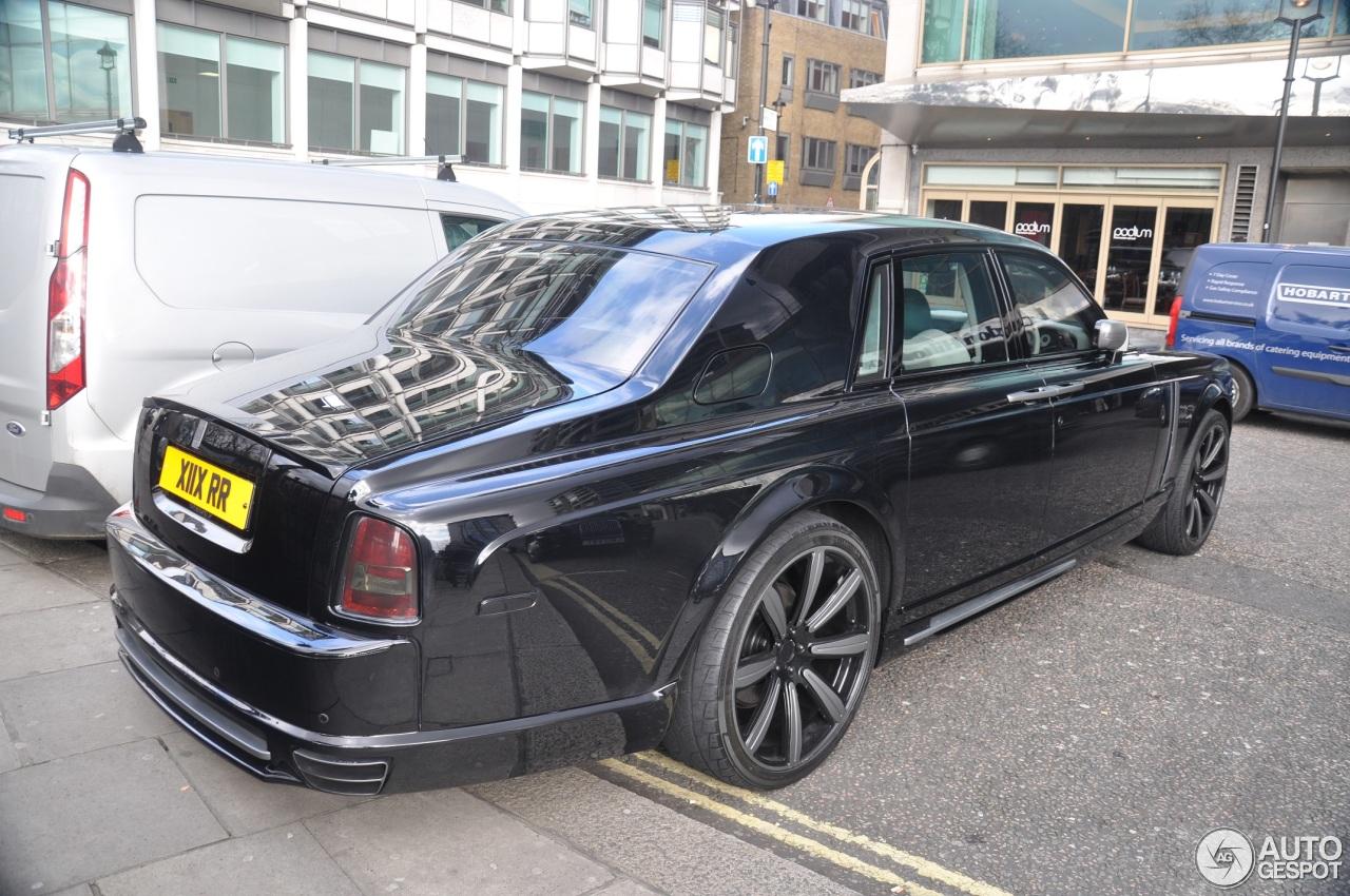 Rolls-Royce Phantom Mansory Conquistador - 4 March 2016 ...