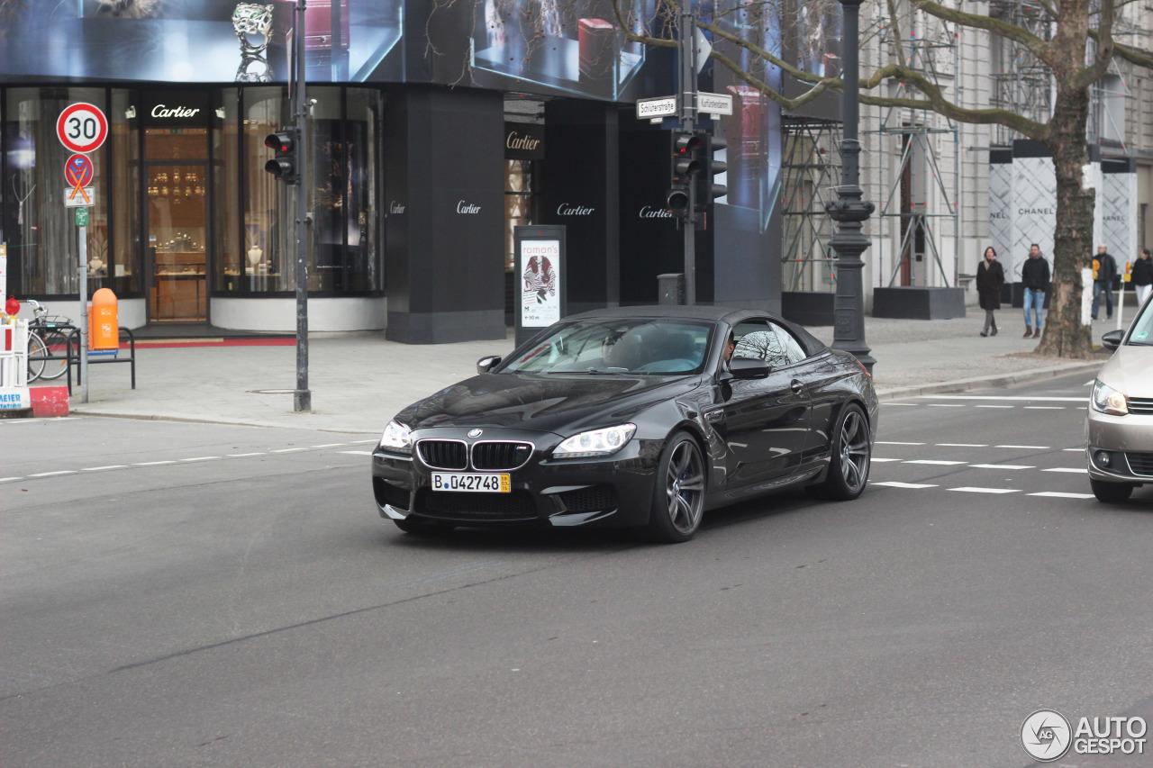 BMW M6 F12 Cabriolet 1
