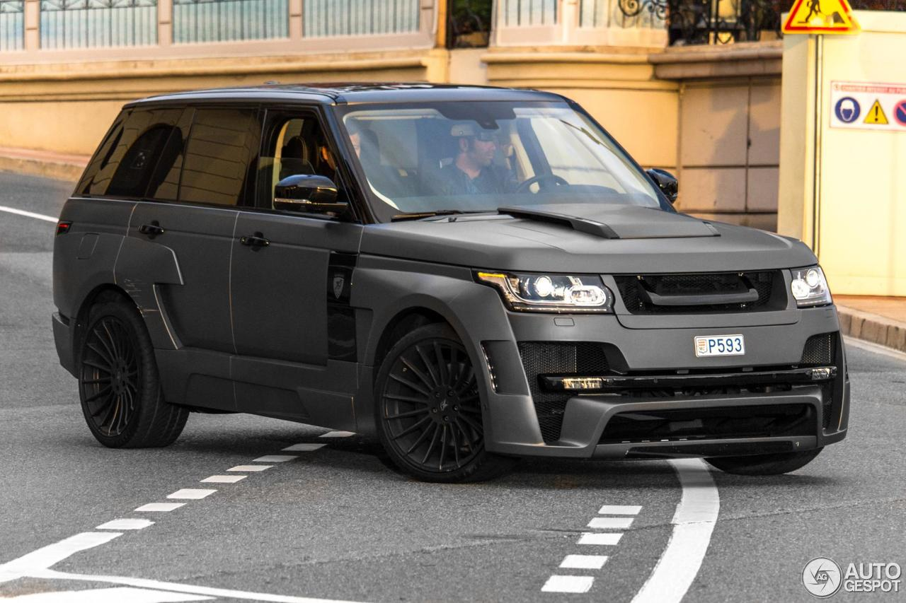 Land Rover Hamann Range Rover Mystère - 5 March 2016 ...