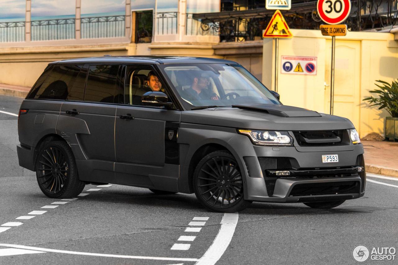 Land Rover Hamann Range Rover Mystère - 5 March 2016 ...