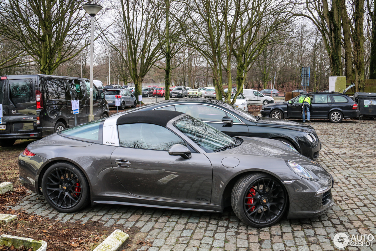 porsche 991 targa 4 gts 5 march 2016 autogespot. Black Bedroom Furniture Sets. Home Design Ideas