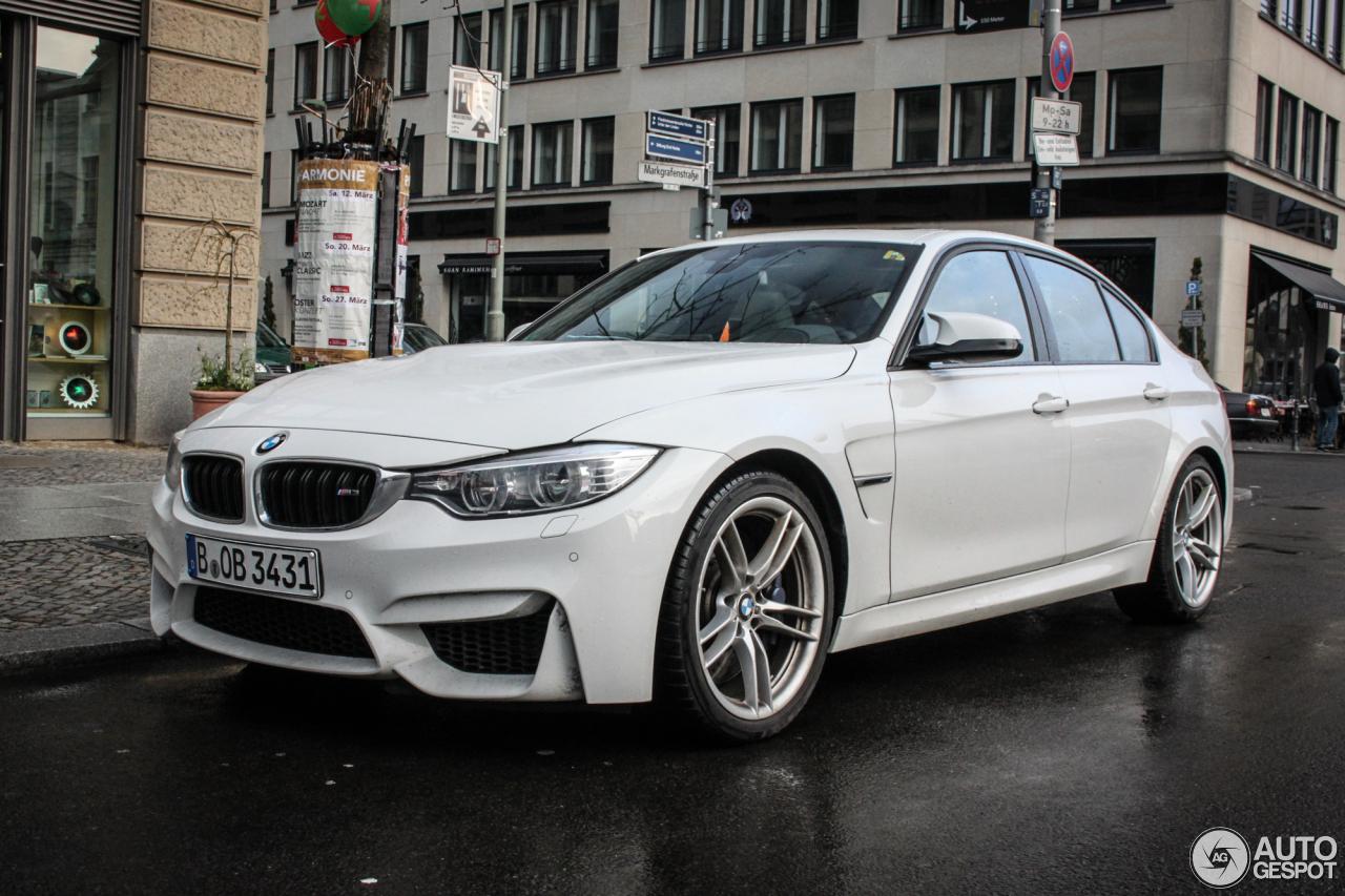 BMW M3 F80 Sedan 2014 10