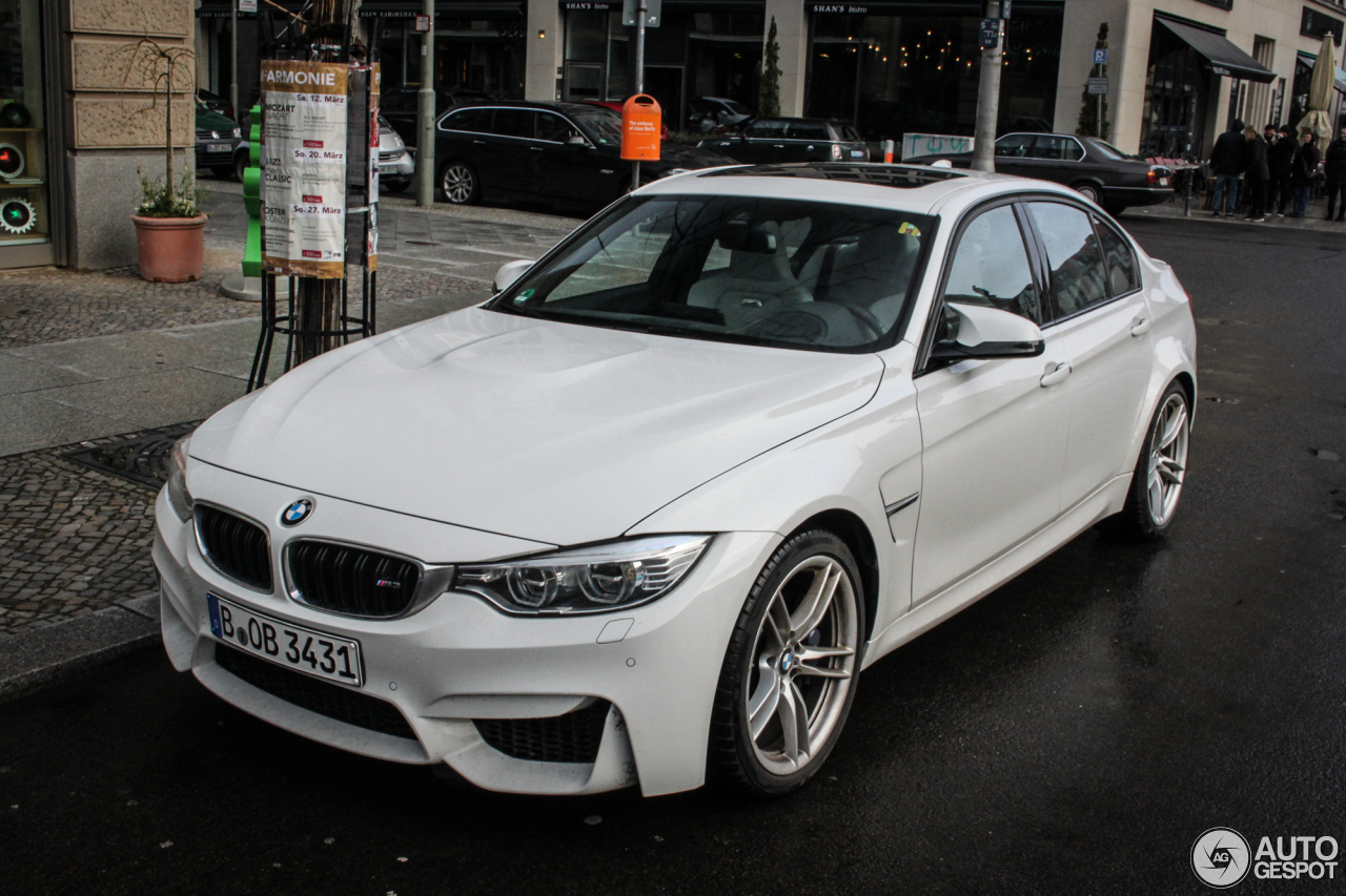 BMW M3 F80 Sedan 2014 7