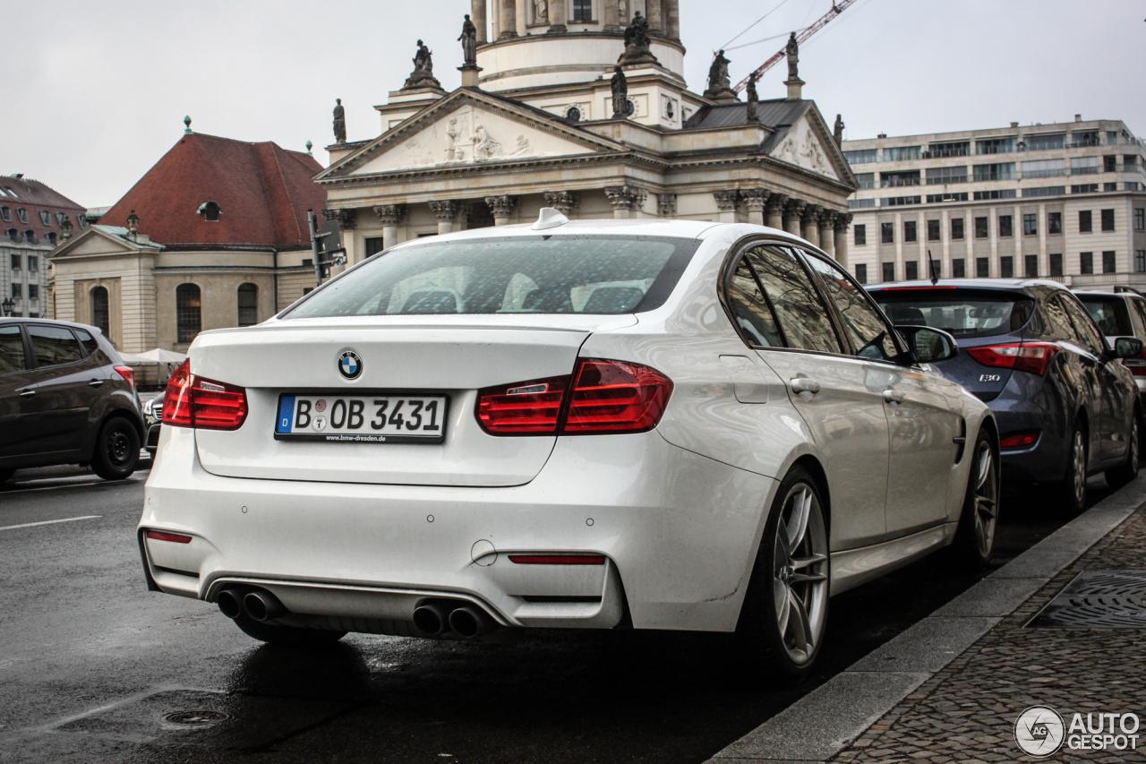 BMW M3 F80 Sedan 2014 8