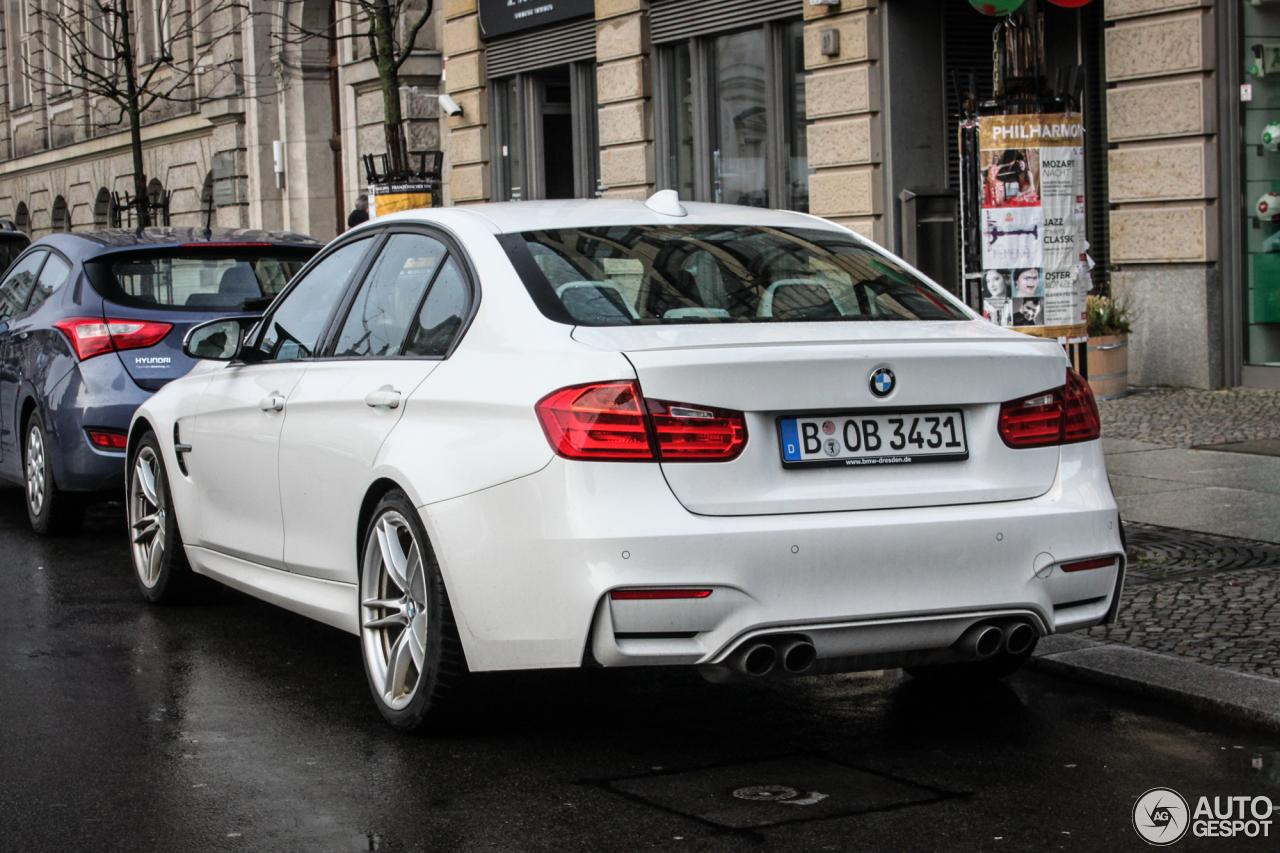 BMW M3 F80 Sedan 2014 9