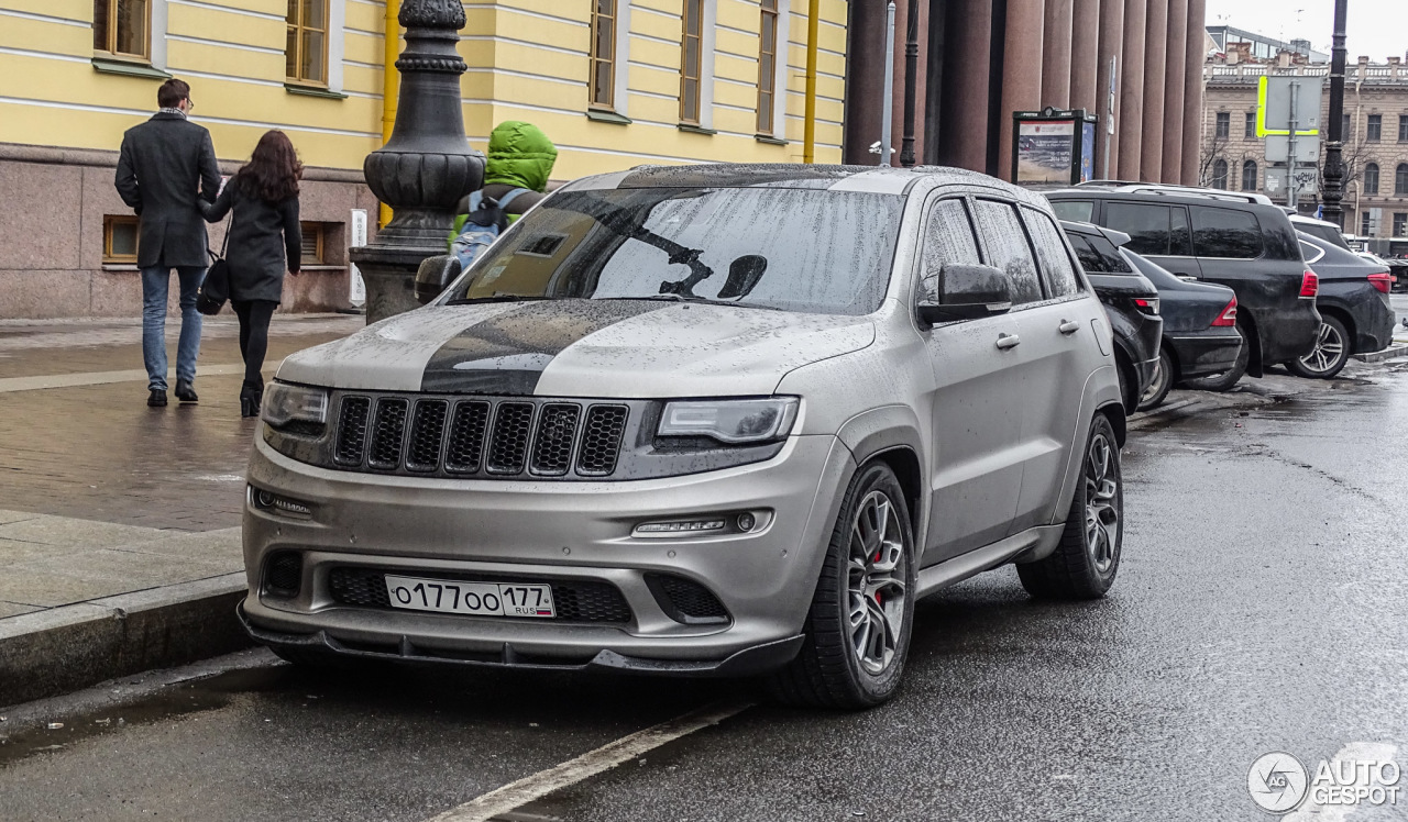 Jeep Grand Cherokee SRT8 2013 Hennessey HPE800  7 March 2016