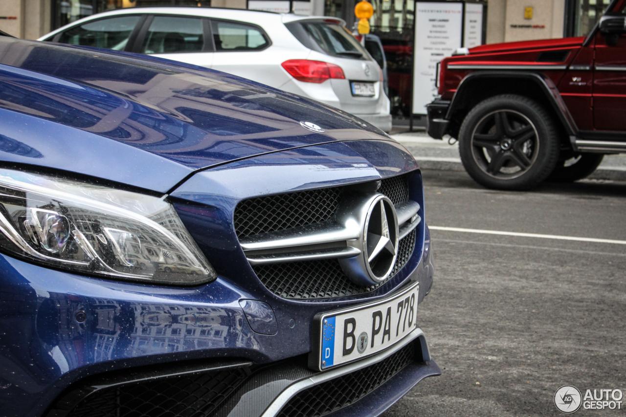 Mercedes-AMG C 63 S W205 6