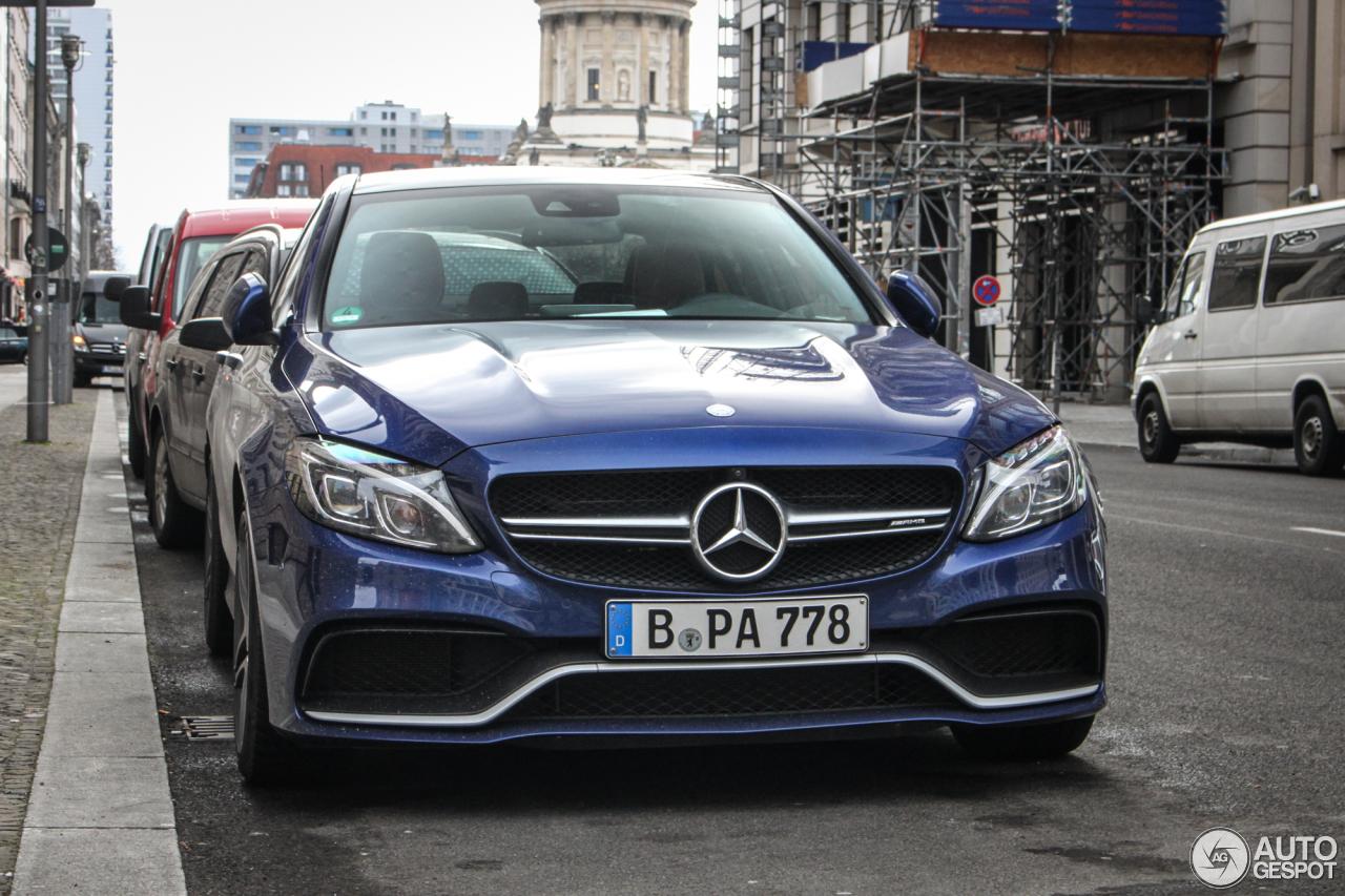 Mercedes-AMG C 63 S W205 7