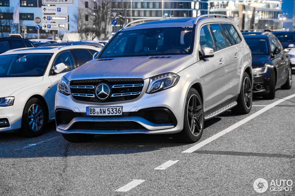 Mercedes Benz Gl  Amg