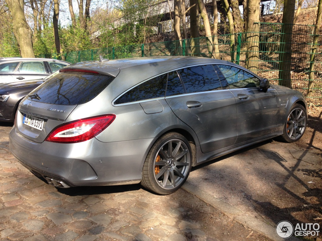 mercedes benz cls 63 amg s x218 shooting brake 2015 9 march 2016 autogespot. Black Bedroom Furniture Sets. Home Design Ideas