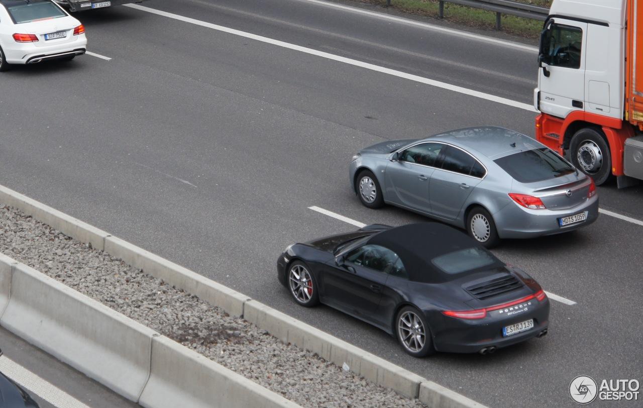 Porsche 991 Carrera 4S Cabriolet 1
