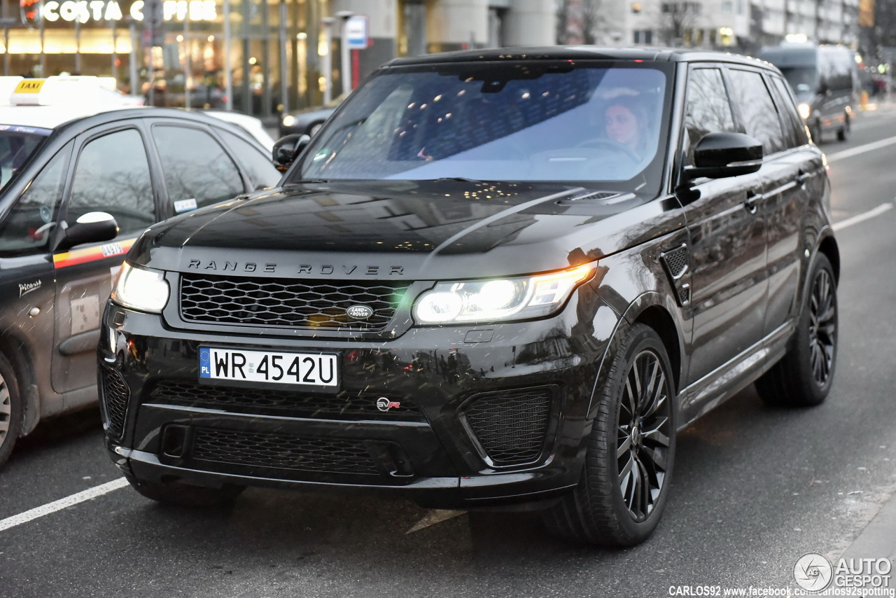 land rover range rover sport svr 10 march 2016 autogespot. Black Bedroom Furniture Sets. Home Design Ideas