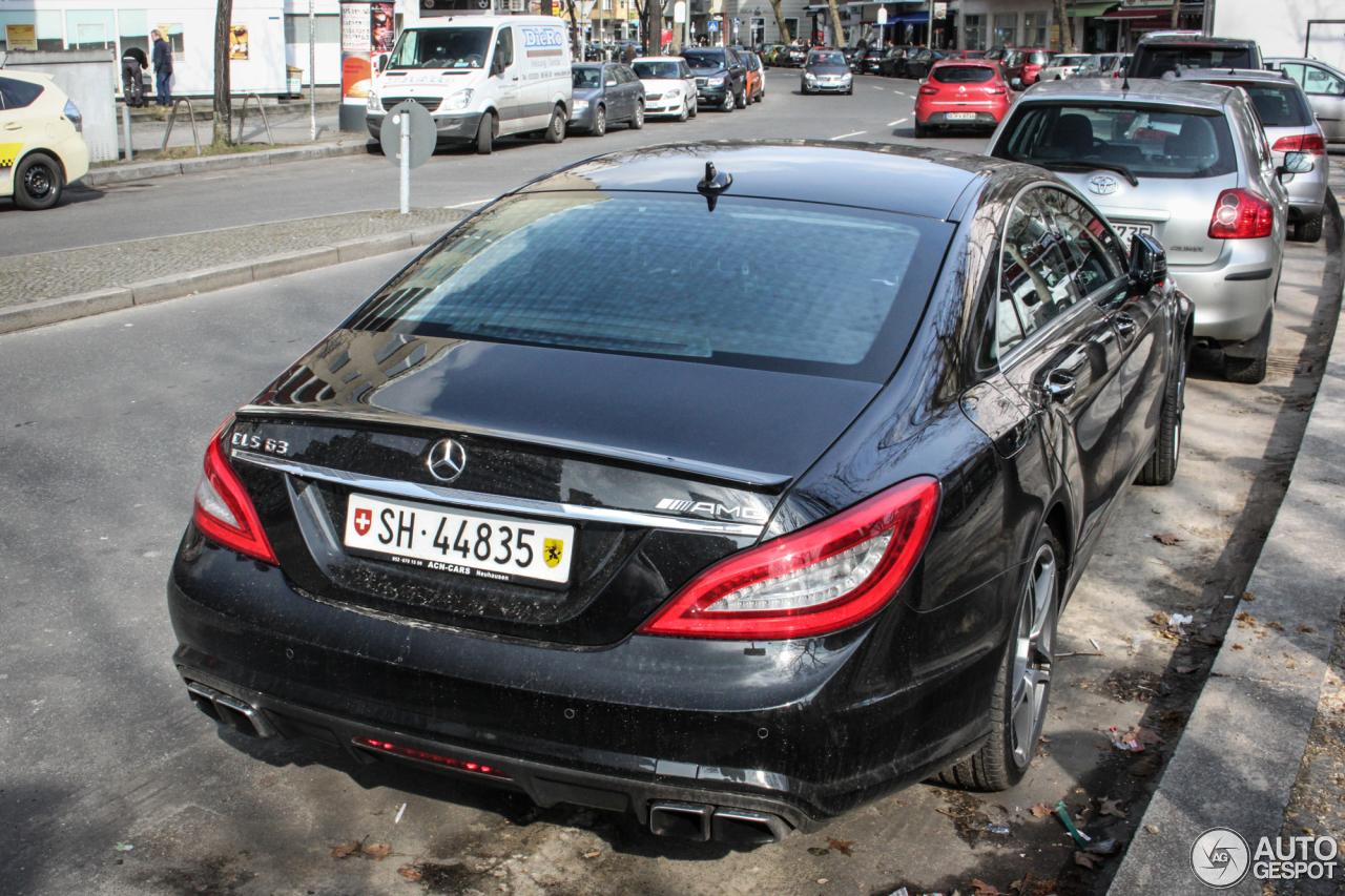 Mercedes-Benz CLS 63 AMG C218 2