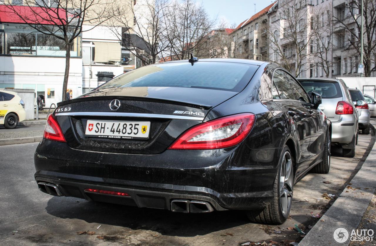 Mercedes-Benz CLS 63 AMG C218 5