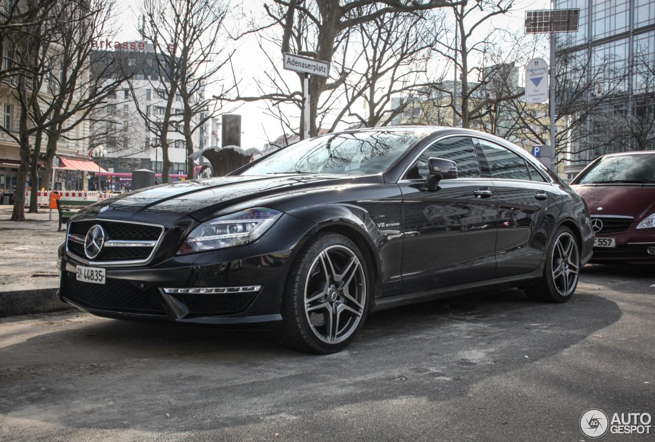 Mercedes-Benz CLS 63 AMG C218 9