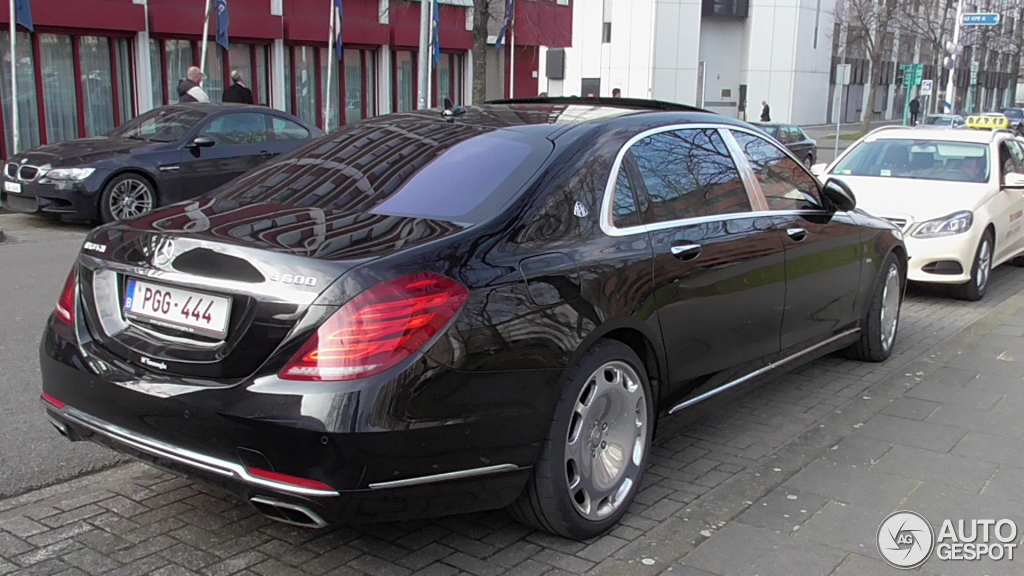 Mercedes maybach s600 10 march 2016 autogespot for 2008 mercedes benz s600 for sale