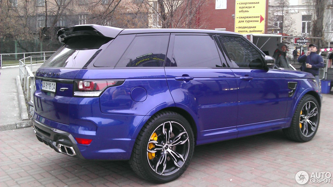 Land Rover Range Rover Overfinch Gt Svr 11 March 2016
