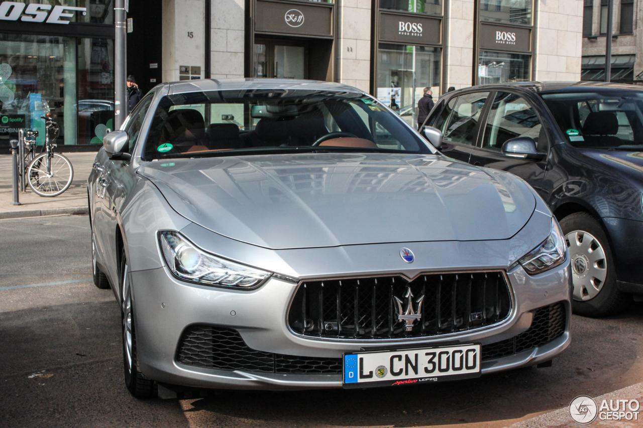 Maserati Ghibli 2013 8